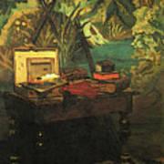 A Corner Of The Studio  Art Print