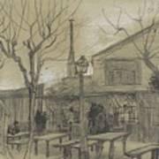 A Guinguette Paris, February - March 1887 Vincent Van Gogh 1853 - 1890 Art Print