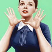 A Star Is Born, Judy Garland, 1954 Art Print by Everett