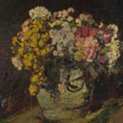 A Vase Of Wild Flowers Art Print