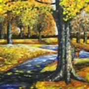 A Walk In The Park Art Print