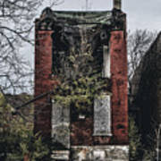 Abandoned House In Old North Saint Louis City Art Print