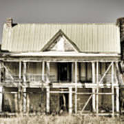Abandoned Plantation House #1 Art Print