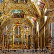 Abbey Of Montecassino Altar Art Print