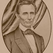 Abraham Lincoln Circa 1860  Art Print