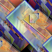 Abstract  145 Art Print