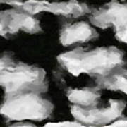 Abstract Monochome 159 Art Print