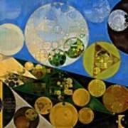 Abstract Painting - Lochmara Art Print