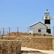 Acre, The Lighthouse  Art Print