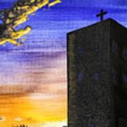 Adobe Church Art Print