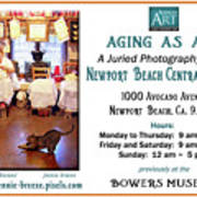Aging As Art Exhibit Art Print