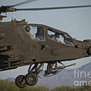 Ah-64d Apache Longbow Lifts Art Print