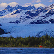 Alaska, Inside Passage Art Print