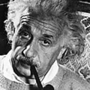 Albert Einstein (1879-1955) Art Print