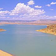 Albiquiu Reservoir, Route 84, New Mexico Art Print