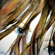 Alex's Eyes Art Print by Cheryl Dodd