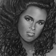 Alicia Keys Art Print