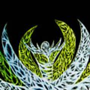 Alien Flower Art Print