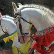 All The King's Horses Art Print