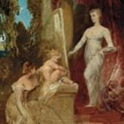 Allegory Of Painting Art Print