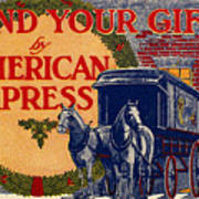American Express Shipping Art Print