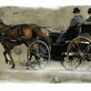 Amish Country Art Print by Bob Salo