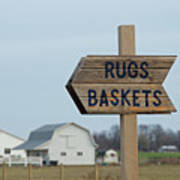 Amish Sign Art Print