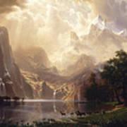 Among The Sierra Nevada, California Art Print