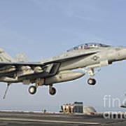 An Fa-18e Super Hornet Makes An Art Print