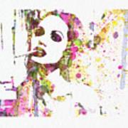 Angelina Jolie 2 Print by Naxart Studio