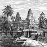 Angkor Wat, Cambodia, 1868 Art Print