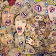 Angst Vortex Art Print