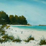 Anna Maria Beach Art Print