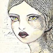 Annabel 2 Art Print