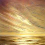 Another Golden Sunset Art Print