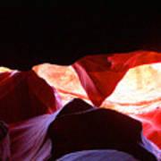 Antelope Slot Canyon - Astounding Range Of Colors Art Print