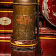 Antique Fire Extinguisher Art Print