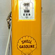 Antique Gas Pump Art Print
