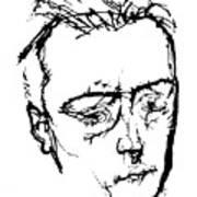 Anton Von Webern Art Print