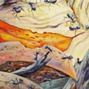 Ants Landscape Art Print