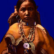 Apache Maiden Art Print