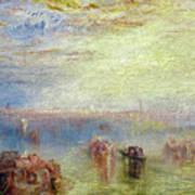 Approach To Venice Art Print