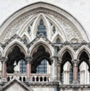 Arches Over The Court Art Print