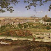 Ariccia, Near Rome, Italy Art Print