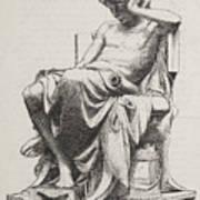 Aristotle, Ancient Greek Philosopher Art Print by Science Source