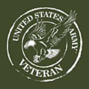 Army Veteran Art Print