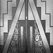 Art Deco Door Art Print