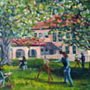 Artists On Location Art Print