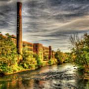 Ashton Mill, Cumberland, Ri Art Print