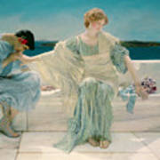 Ask Me No More Print by Sir Lawrence Alma-Tadema